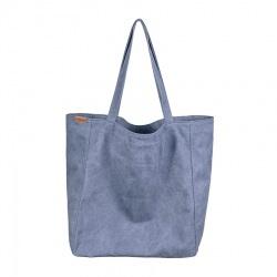 Big Lazy bag torba ciemnoniebieska na zamek