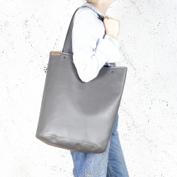 Shopper Tragetasche XL Grau
