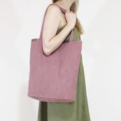 Baumwolle Shopper Tragetasche XL Rosa