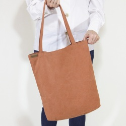 Cotton shopper bag XL orange